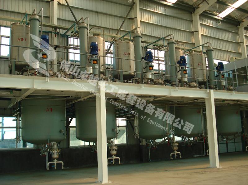 聚氨酯树脂成套设备的操作规程