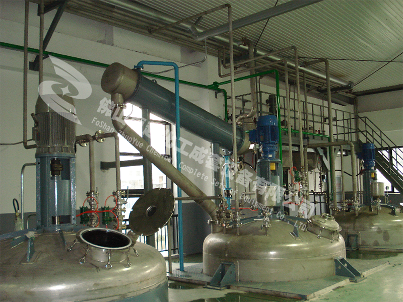 热熔胶化工成套设备的介绍